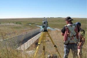 Twin Valley Dam deformation survey